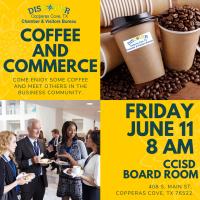 Coffee & Commerce - CCISD