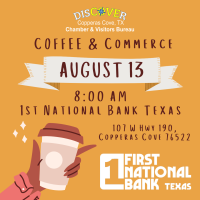 Coffee & Commerce - 1st National Bank Texas