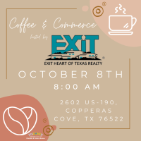 Coffee & Commerce - Exit Heart of Texas Realty