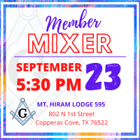 Business After Hours Mixer - Mt. Hiram Lodge 595