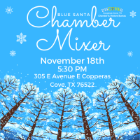 Business After Hours Mixer - Blue Santa