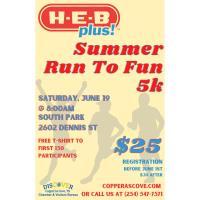 HEB Plus Summer Run To Fun