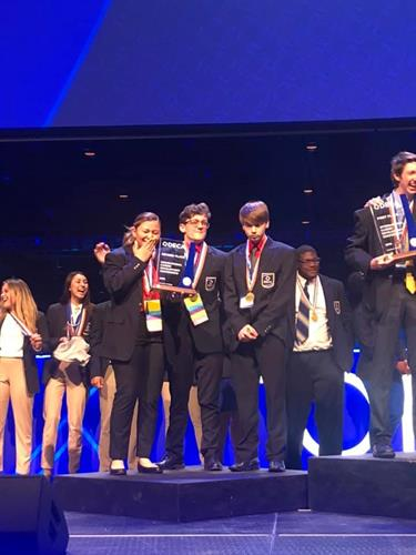 2019 CCHS DECA ICDC 2nd Place International Winners