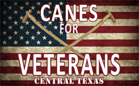 Canes for Veterans Central Texas