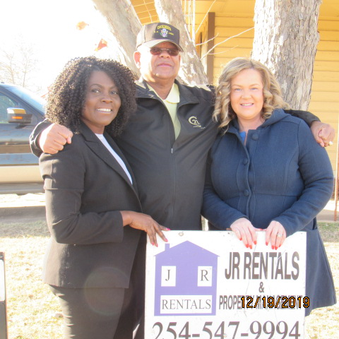 Dorothy, Robert and Simone at Ground Breaking Ceremony December 19, 2019.