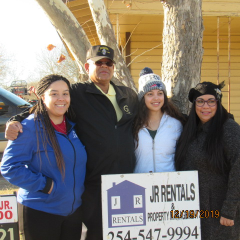 Angelica, Robert, Madalynn & Melissa at Ground Breaking Ceremony December 19, 2019