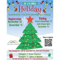 News Release: KCCB Holiday Decorating Contest 11/24/2020