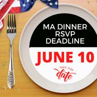 News Release: Military Affairs Dinner RSVP Deadline 6/8/2021