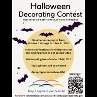 News Release: KCCB Halloween Decorating Contest- 10/1/2021
