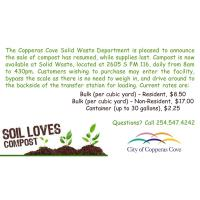 News Release Solid Waste Now Selling Compost: 2/6/2020