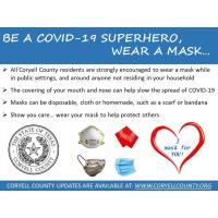 News Release: City of Copperas Cove Wear A Mask Campaign