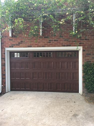 Steel Door with Wood Color
