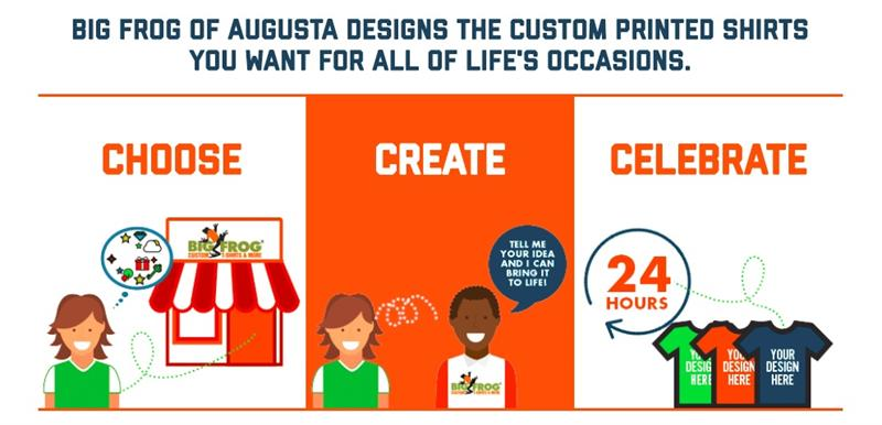 Big Frog Custom T-Shirts of Augusta