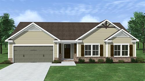 The Gable plan has 1706 ht. sq. ft and is located at 2136 Grove Landing Way and is priced at $175,200.00