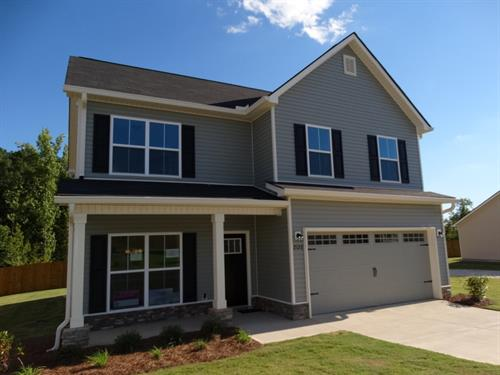 The 1942 Plan is located at 2138 Grove Landing Way and is 1942 ht.sq. ft and is priced at $184,785.00