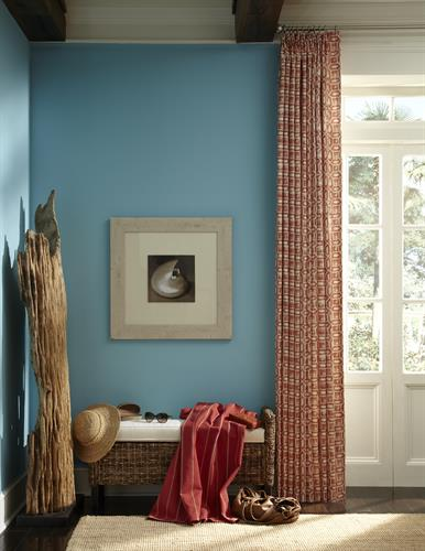Coordinating Sheers and Drapery Panels