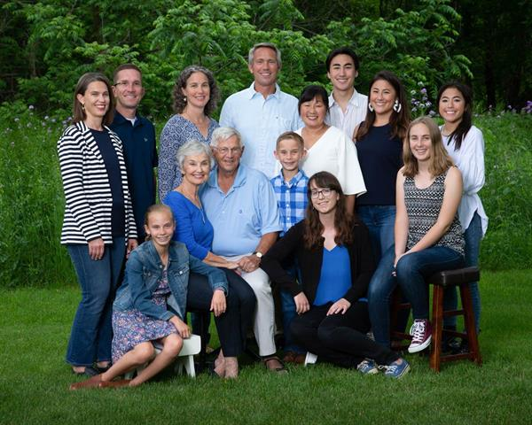 Family reunion portraits