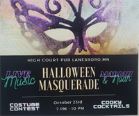Halloween Masquerade with HCP