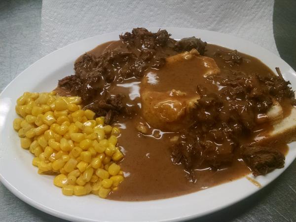 Hot Beef special