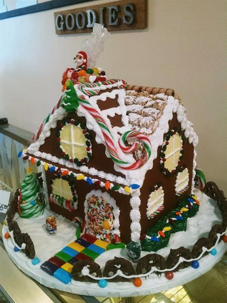 Handmade Gingerbread house