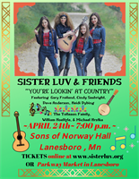 "Sister Luv & Friends ~ ""You're Lookin' at Country"""