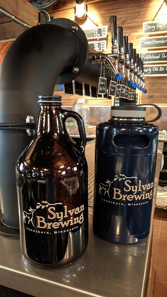 We do growler fills for beer to go!