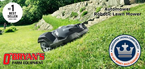 Need more time to do the things you want to do?  Check out the Robotic Lawn mower!!