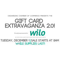 Gift Card Extravaganza 2.0! SOLD OUT!