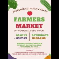 Redeemer Lutheran Church Farmers Market