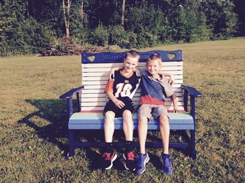 Buddy Benches For Playgrounds & Friends!
