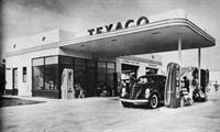 Building originally Texaco gas station built in 1940's