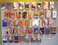 Artist Houston Llew works