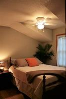 Comfortable double bed with a selection of pillows for a wonderful nights rest