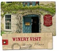 Winery tours , tasting, and shop in the Settlement Shops a block a way