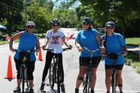 Bike4aCause - Support a local non-profit at this annual ride (held on the last Sat in July)