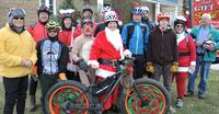 Fat Santa Ride - Benefitting the Oz Interurban Trail is held annually on the first Sun in December