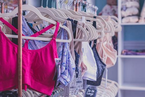 We have a wide selection of nursing bras.