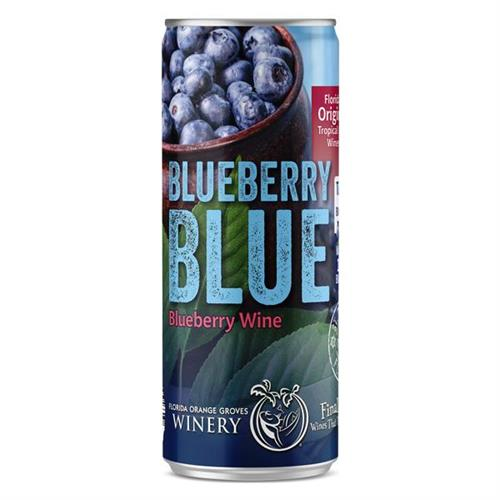 Blueberry Blue Wine Slim Can