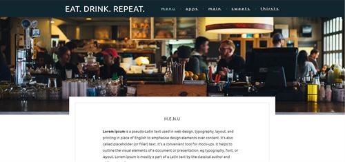Portfolio - EAT.DRINK.REPEAT