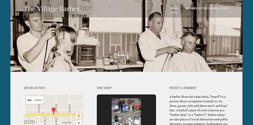 Portfolio - The Village Barber