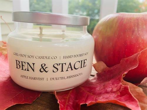 Apothecary Candles With Custom Names