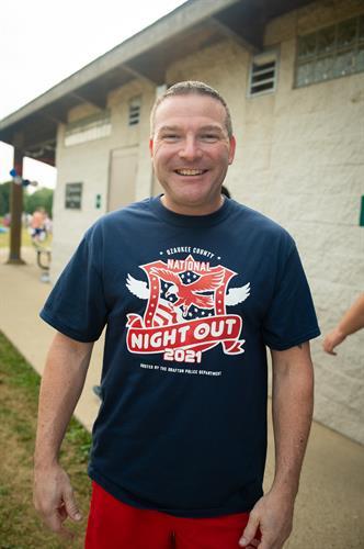 T-Shirt Design - Ozaukee County National Night Out 2021