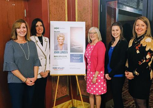 McKinley Carter was a lead sponsor for Joan Lunden's appearance at the Capitol Theater in March 2018.