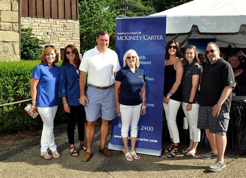 Members of the McKinley Carter Wheeling Office team at Oglebay's Zoo Brew.