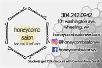 Honeycomb Salon - Wheeling