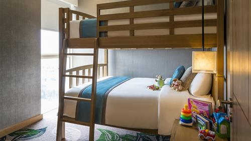 Family Suite - Bunk Bedroom