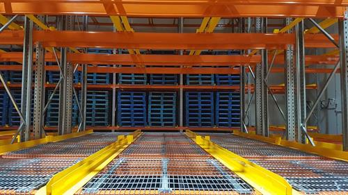 Double-deep racking