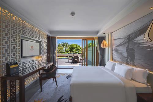 Angsana Lang Cô_Courtyard One Bedroom Pool Suite_Bedroom