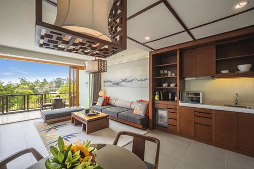 Angsana Lang Cô_Seaview Junior Pool Suite Twin_Living room