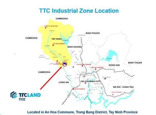 TTC IZ's location 1